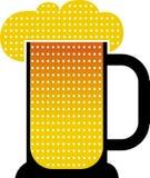 Birra della tazza Fotografia Stock