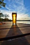 Birra di autunno Immagine Stock Libera da Diritti