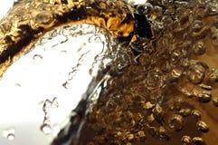 Birra di ghiaccio fresca Fotografie Stock