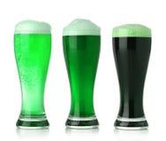 Birra di giorno della st Patrick Fotografia Stock