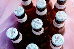 Birra di Hoegaarden Fotografia Stock