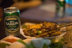 Birra di Saigon Fotografie Stock Libere da Diritti