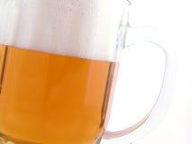 Birra dorata Fotografia Stock Libera da Diritti