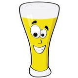 Birra felice royalty illustrazione gratis