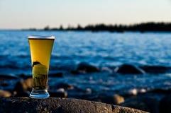 Birra fredda Fotografia Stock Libera da Diritti