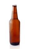 Birra fredda in bottiglia marrone Immagini Stock