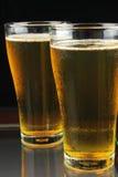 Birra fredda in vetro. Fotografia Stock Libera da Diritti