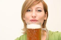 Birra irlandese Immagine Stock