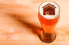 Birra locale del mestiere Fotografia Stock Libera da Diritti