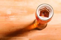 Birra locale del mestiere Immagini Stock Libere da Diritti