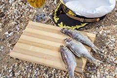 Birra messa per il marinaio Fotografia Stock