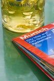Birra a Monaco di Baviera Fotografie Stock