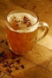 Birra riscaldata con i chiodi di garofano Fotografia Stock