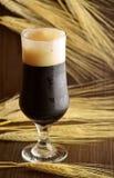 Birra scura Fotografie Stock