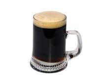 Birra scura Immagini Stock