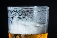 Birra senza schiuma Fotografia Stock Libera da Diritti