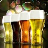 Birra totale Fotografia Stock