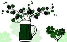 Birra verde Immagine Stock Libera da Diritti