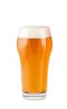 Birra in vetro isolato Immagine Stock
