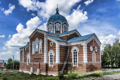 Birsk. The Church Of St. Nicholas The Wonderworker. Royalty Free Stock Photos
