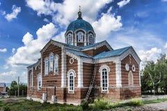 Birsk La chiesa della st Nicholas The Wonderworker Fotografie Stock Libere da Diritti