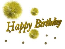 Birtday Royalty Free Stock Images