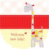 Birth Announcement Banner Stock Photos