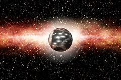 The Birth of a Black Hole Stock Image