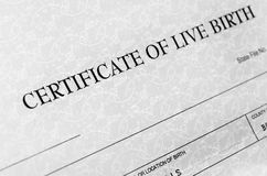 Birth Certificate Detail