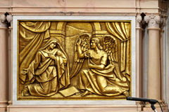 Birth of Christ, Annunciation Angel Stock Photography