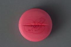 Birth control tablet concept Stock Photos