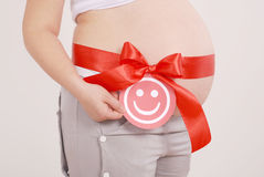 The birth of a girl it is desirable Royalty Free Stock Images