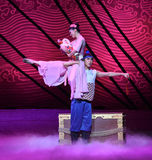"""Birth of his son-Dance drama """"The Dream of Maritime Silk Road"""" Royalty Free Stock Photos"""