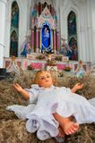 Infant Jesus Church birth Christmas Easter Royalty Free Stock Photo