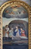 Birth of Jesus Royalty Free Stock Image