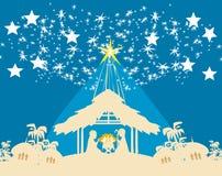 Birth of Jesus in Bethlehem Stock Photography
