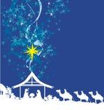 Birth of Jesus in Bethlehem Royalty Free Stock Photos