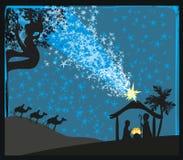 Birth of Jesus in Bethlehem Stock Photo
