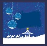 Birth of Jesus in Bethlehem. Royalty Free Stock Photos