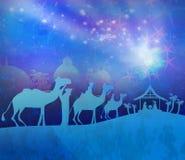 Birth of Jesus in Bethlehem. Stock Image