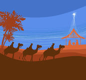 birth of Jesus in Bethlehem. Royalty Free Stock Photography