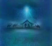 Birth of Jesus in Bethlehem. Stock Photos