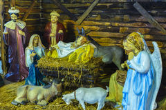 The Birth of Jesus Stock Image