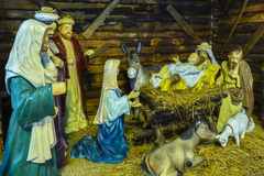 The Birth of Jesus Royalty Free Stock Image