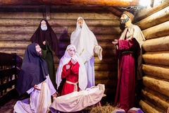 Birth of Jesus Christ Royalty Free Stock Photos
