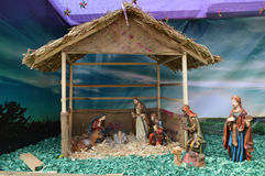 Birth of Jesus Christ decoration,  Ahmedabad Royalty Free Stock Photography