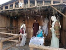 The birth of Jesus Crist Stock Photography