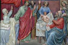Birth of John the Baptist. Birth of Saint John the Baptist Stock Photography