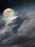 Birth of the moon Royalty Free Stock Photos