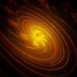 The Birth of a New Planetary System Stock Image
